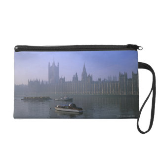 River Thames and Houses Wristlet Purses