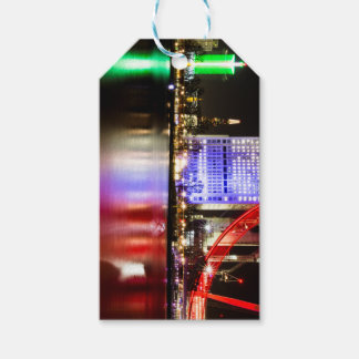 River Thames in Colour at night Gift Tags