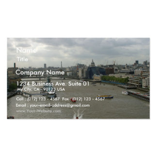 River Thames In London England Business Card Template
