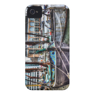 River Thames Sailing Barges. iPhone 4 Case