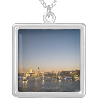 River Thames Silver Plated Necklace