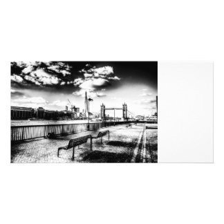 River Thames View Customized Photo Card