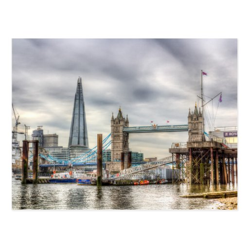River Thames View Postcards