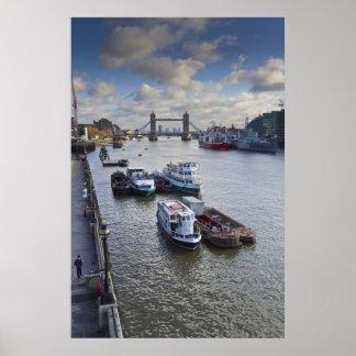 River Thames view Print