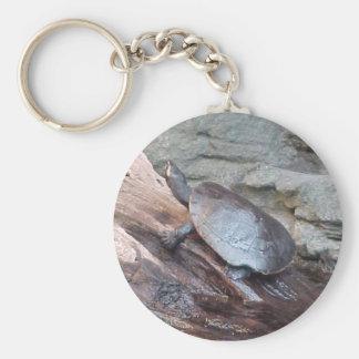 River Turtle Key Ring