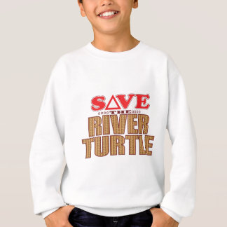 River Turtle Save Sweatshirt