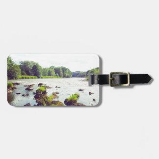 River Tweed Bag Tag