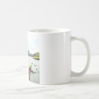 River Tweed Basic White Mug