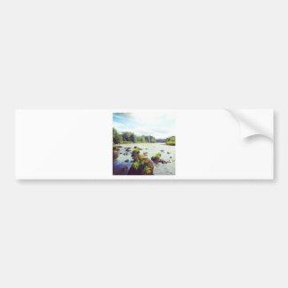 River Tweed Bumper Sticker