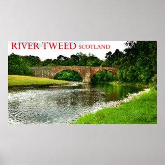 river tweed scotland poster