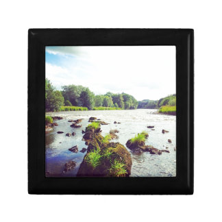 River Tweed Small Square Gift Box