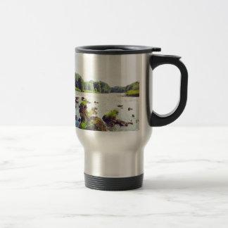 River Tweed Stainless Steel Travel Mug