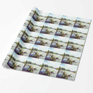 River Tweed Wrapping Paper