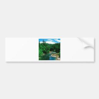 River Umpqua Douglas County Oregon Bumper Sticker
