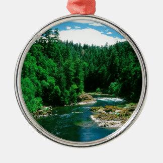 River Umpqua Douglas County Oregon Christmas Ornament