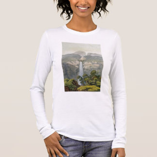 River Vinagre Waterfall, near the Puraci Volcano, Long Sleeve T-Shirt
