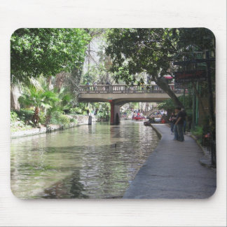 River walk mouse pad