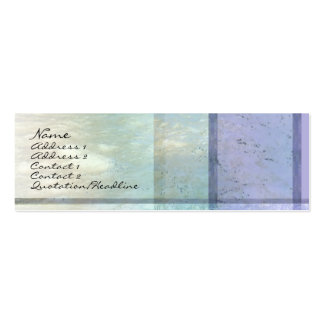 River Water Profile Card Business Cards
