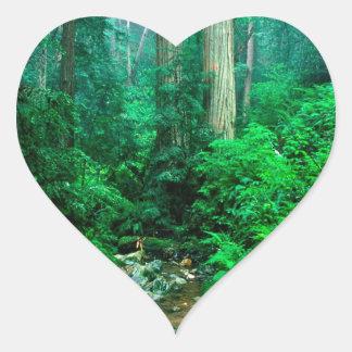 River Webb Tamalpais Heart Sticker