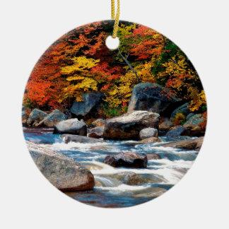 River White New Hampshire Christmas Ornament