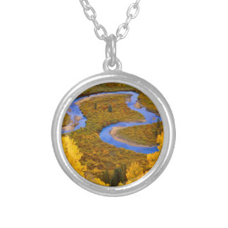 River Winding Gunnison Forest Colorado Necklace