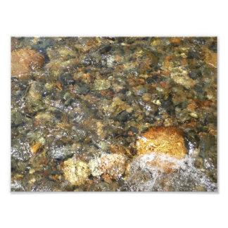 River-Worn Pebbles Photo Print