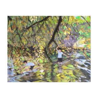 River Wye 2008 Canvas Print
