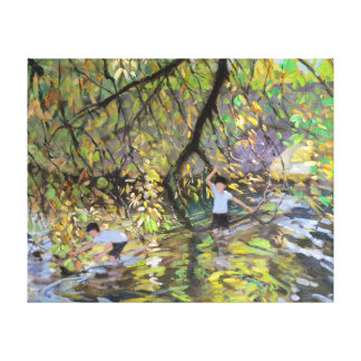 River Wye 2008 Stretched Canvas Prints