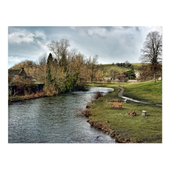 River Wye at Bakewell Postcard