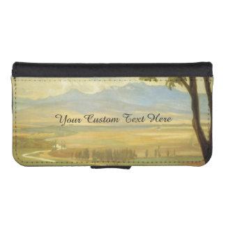 """Rivera's """"Avila Morning"""" custom wallet cases"""