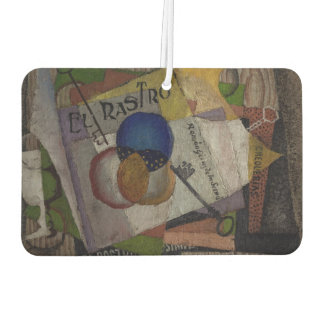 Rivera's El Rastro art air freshner Car Air Freshener