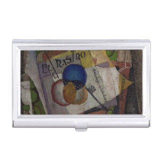 Rivera's El Rastro business card holder