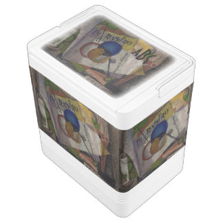 Rivera's El Rastro custom monogram cooler Igloo Cool Box