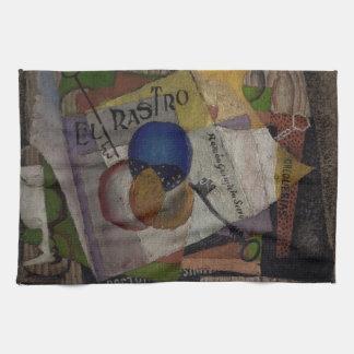 Rivera's El Rastro hand towel
