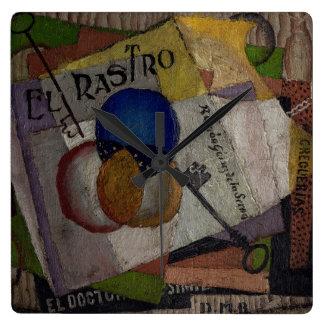 Rivera's El Rastro wall clock