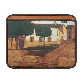 """Rivera's """"Street in Avila"""" 13"""" MacBook sleeve"""