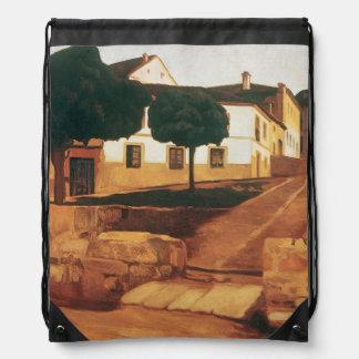 """Rivera's """"Street in Avila"""" bag Rucksack"""