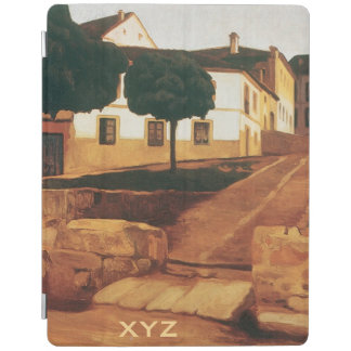 "Rivera's ""Street in Avila"" custom device covers iPad Cover"