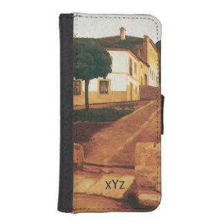 """Rivera's """"Street in Avila"""" custom wallet cases"""