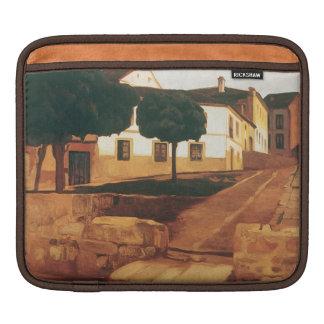 """Rivera's """"Street in Avila"""" iPad sleeve"""