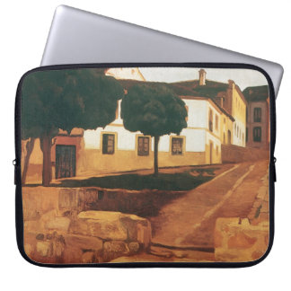 "Rivera's ""Street in Avila"" laptop sleeve"