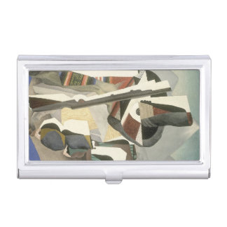 "Rivera's ""Zapata-style Landscape"" Business Card Holder"