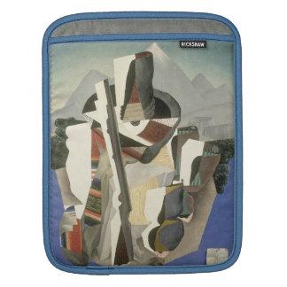 "Rivera's ""Zapata-style Landscape"" iPad sleeve"