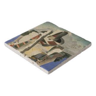 """Rivera's """"Zapata-style Landscape"""" stone trivets"""