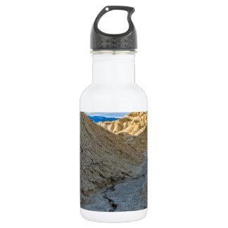 Riverbed view of Zabriskie Point 532 Ml Water Bottle