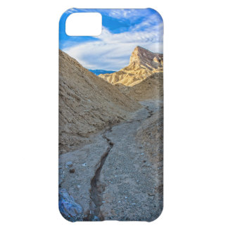 Riverbed view of Zabriskie Point iPhone 5C Covers