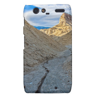 Riverbed view of Zabriskie Point Droid RAZR Covers