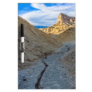 Riverbed view of Zabriskie Point Dry Erase Boards