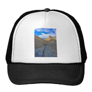 Riverbed view of Zabriskie Point Trucker Hats