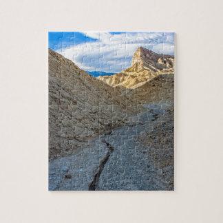 Riverbed view of Zabriskie Point Jigsaw Puzzles